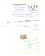 Facture - G. BRAYEUR - Ultrabutane - MICHEROUX 1967 (xh) - Belgium
