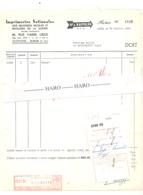 Facture - Imprimeries Nationales Des Militaires Mutilés Et Invalides De Guerre - LIEGE 1965 (xh) - Belgium