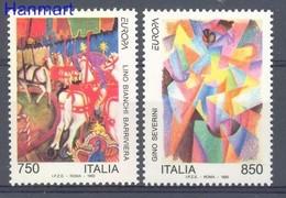 Italy 1993 Mi 2279-2280 MNH ( ZE2 ITA2279-2280 ) - Horses