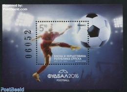 Bosnia Herzegovina - Serbian Adm. 2016 Football S/s, (Mint NH), Football - Sport - Bosnia And Herzegovina