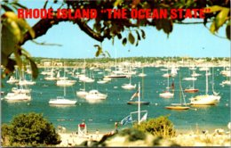 Rhode Island Newport Harbor Seen From Fort Adams State Park - Newport