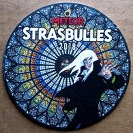 STRASBULLES 2018 > Sous-bock METEOR Dessiné Par ANDREAS (état Neuf) - Objets Publicitaires