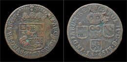 Austrian Netherlands Brabant Charles II Liard(oord)1692 - ...-1831