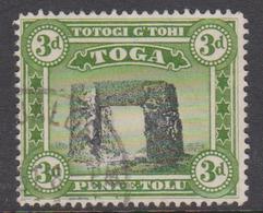 Tonga SG 78 1942 Prehistoric Trilith At Haamonga Used - Tonga (1970-...)