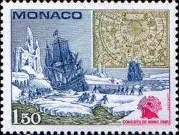 Monaco Poste N** Yv:1301 Mi 1486 Yv:2,1 Euro Comité Arctique Congrès De Rome - Monaco