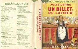 BIBLIOTHEQUE VERTE EDITION 1946 ( PEU COMMUNE )  UN BILLET DE LOTERIE DE JULES VERNE - ILLUSTRATIONS D ANDRE PECOUD, - Livres, BD, Revues