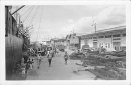 CPA Carte Photo - Cameroun - Le Port De Douala - Cameroon