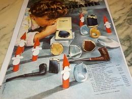 ANCIENNE PUBLICITE OFFRIR C EST DEJA CHOISIR BRIQUET  FLAMINAIRE 1964 - Tabac (objets Liés)
