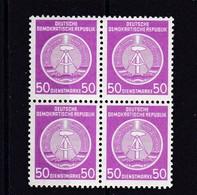 DDR, Dienst: Nr. 14x Im Viererblock** (K 6193) - Service