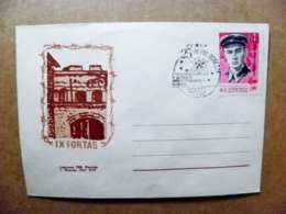 Cover Lithuania Special Cancel 1970 Vilnius Ussr Soviet Occupation Period WwII War Victory Kaunas IX Fort Army Soldier - Lituania