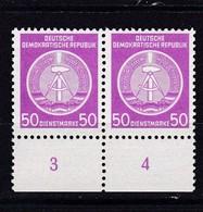 DDR, Dienst: Nr. 14x Im Paar** (K 6193) - Service
