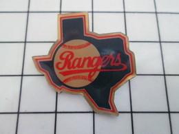 616B Pin's Pins / Beau Et Rare / THEME : SPORTS / BASE-BALL TEXAS RANGERS Pas Walker - Honkbal