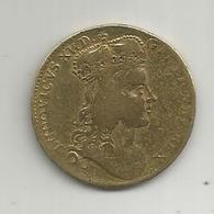 Jeton , LUDOVICUS XV , REX COELISTI OLEO UNCTUS , Remis 25 Oct. 1722, LE SACRE , 2 Scans - Monarchia / Nobiltà