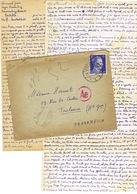 CORRESPONDANCE  ALLEMAGNE TRAVAILLEUR STO BIELEFELD JANVIER 44 - Marcophilie (Lettres)
