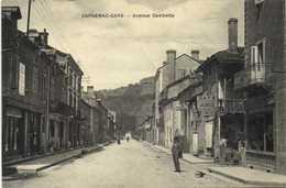 CAPDENAC GARE  Avenue Gambetta Commerces RV - France
