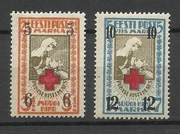 Estland Estonia 1926 Michel 60 - 61 * - Estonie