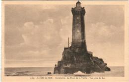 61mb 1903 CPA - LE RAZ DE SEIN - LA PHARE DE LA VIEILLE - La Pointe Du Raz
