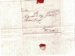 Brief Von Rovereto Nach Girlan  1847 C690 - Österreich