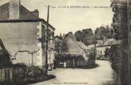 LE GUE De MEZIERES  (Sarthe) Rue Principale RV - Francia