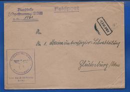Enveloppe   FELDPOST  Avec Feldpostnummer M 12469  Oblitération: 7/8/1941 + Cachet Avec Croix Et Aigle - Germany