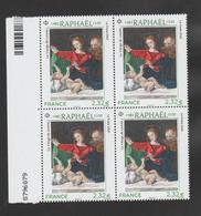 """FRANCE / 2020 / Y&T N° 5396 ** : """"Vierge De Lorette"""" (Raphaël) X 4 En Bloc Dont 2 BdF - Ungebraucht"""