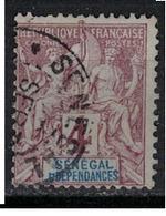 SENEGAL           N°  YVERT    10 ( 4 )            OBLITERE       ( OB  7 / 39 ) - Senegal (1887-1944)
