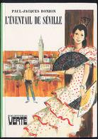 """{09403} Paul-Jacques Bonzon """"L'éventail De Séville"""" Bibliothèque Verte (cartonné). 1975. TBE.  """" En Baisse """" - Livres, BD, Revues"""