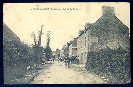 Cpa Du 22 Saint Maudez Entrée Du Bourg    ---  Près Corseul Plélan Le Petit    AVR20-139 - Autres Communes