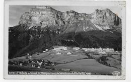 (RECTO / VERSO) SAINT HILAIRE DU TOUVET EN 1943 - N° 5222.13 - VUE GENERALE - BROMURES DE GEP - CARTE PHOTO FORMAT CPA - Saint-Hilaire-du-Touvet