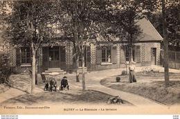 BUTRY  La Glaneuse.   La Terrasse.   2 Scans  TBE - Butry