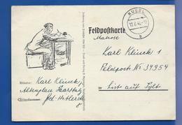 FELDPOSTKARTE    Oblitération: KUSEL 12/6/1940 - Germany