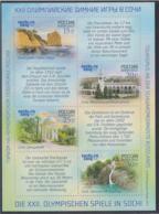 Russia 2014 Sochi Olympic Games Tourism Souvenir Sheet MNH/** (H61) - Winter 2014: Sochi