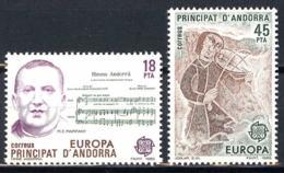 Andorra. 1985. EUROPA Cept. Music - Europa-CEPT