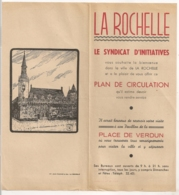 LA ROCHELLE PLAN DE CIRCULATION  N13 - Tourism Brochures