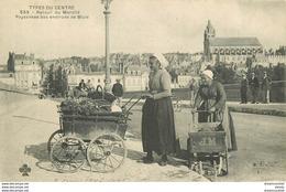 SL 41 BLOIS. Paysannes Au Retour Du Marché Avec Chariottes 1903 - Blois