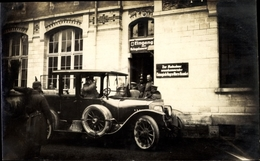 Photo Cp Chambley Bussières Meurthe Et Moselle, Kaiser Wilhelm II. Besucht Kriegslazarett - Francia