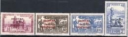 Cote D'Ivoire N°165 à 168** Luxe 1941 - Costa D'Avorio (1892-1944)