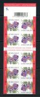 BE  B41   XX    ----   Crocus Vernus   --   Jamais Plié - Markenheftchen 1953-....