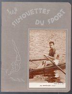 Cahier D'écolier Avec Couverture Photo: JEAN SEPHERIADES (aviron) (les Silhouettes Du Sport) (M0145) - Sport