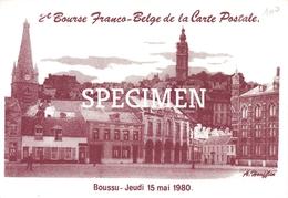 2e Bourse Franco-Belge De La Carte Postale - Boussu 1980 - Boussu