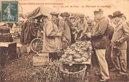 50-SCENE NORMANDE-LE MARCHAND DE COQUILLAGES-N°2155-A/0095 - Autres Communes