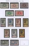 Cote D'Ivoire N°21 à 34* 1906 TTB - Costa D'Avorio (1892-1944)