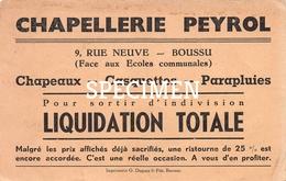 Chapellerie Peyrol Reu Neuve -  Boussu - Boussu
