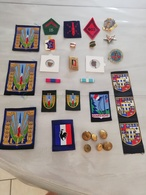17362  MILITARIA LOT INSIGNES-DECORATIONS DIVERS CIVILS OU MILITAIRES - Medals