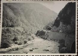 PETITE PHOTO, Coulée-Gorges De Saorge, Vallee De La Roya, 06-Alpes Maritimes (années 50) - Places