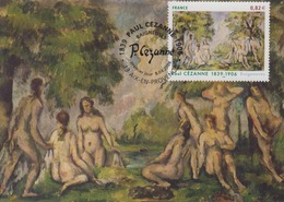Carte  Maximum  1er  Jour    FRANCE    Oeuvre  De  Paul  CEZANNE   AIX  EN  PROVENCE   2006 - Cartoline Maximum