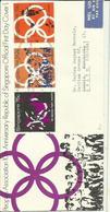 SINGAPORE 1970 REGD FDC - Singapore (1959-...)