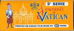 Belle Pochette Cartonnée KODAK Contenant Une Série Complète  De 12 Diapositives Souvenir Of VATICAN 3a Série - Diapositives