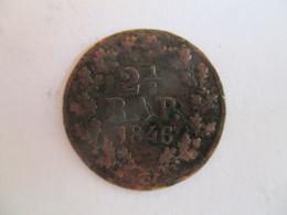 Switzerland: 21/2 Centimes Fribourg 1846 - Schweiz