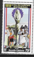 NEW CALEDONIA,  2019, MNH, WWI, THE RETURN OF THE COMBATANTS, 1v - 1. Weltkrieg